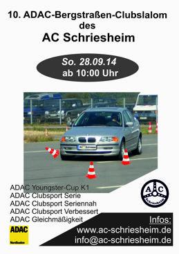 AC Schriesheim Clubslalom 2014